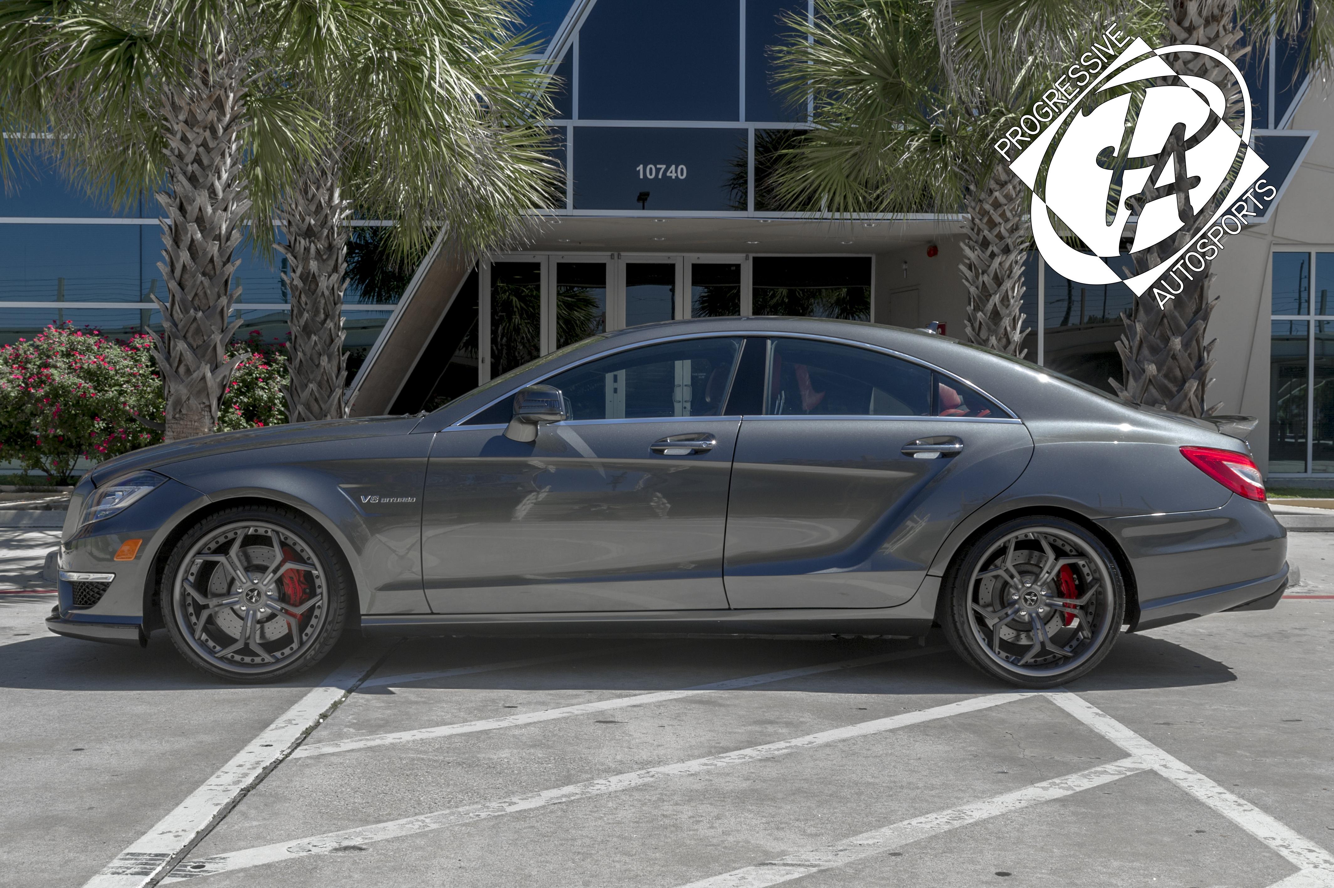 2012 MERCEDES AMG CLS63 - CUSTOM WIDE BODY PROJEKT - Progressive Autosports